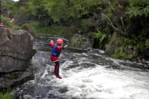 Canyoning in North Glen Sannox, the Isle of Arran