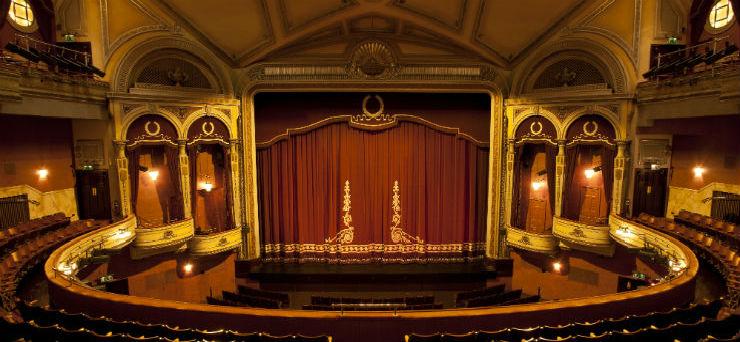 The Festival Theatre auditorium