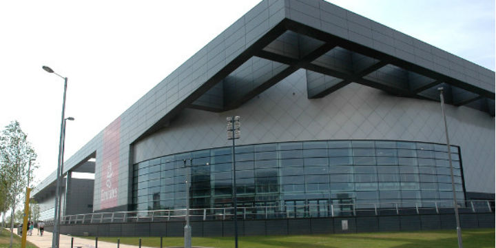 The Emirates Arena has a capacity of up to 7,000 and will stage badminton in the Commonwealth Games