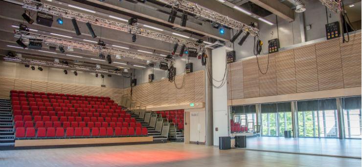 The Studio - interior