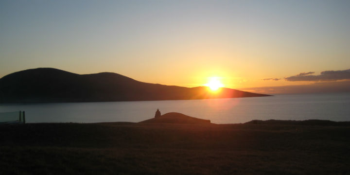 Sunset over Scarista, Isle of Harris