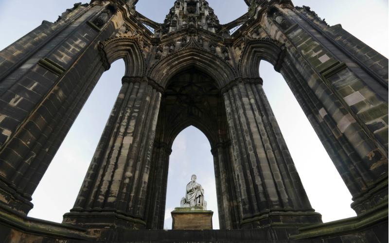 The Scott Monument, Edinburgh