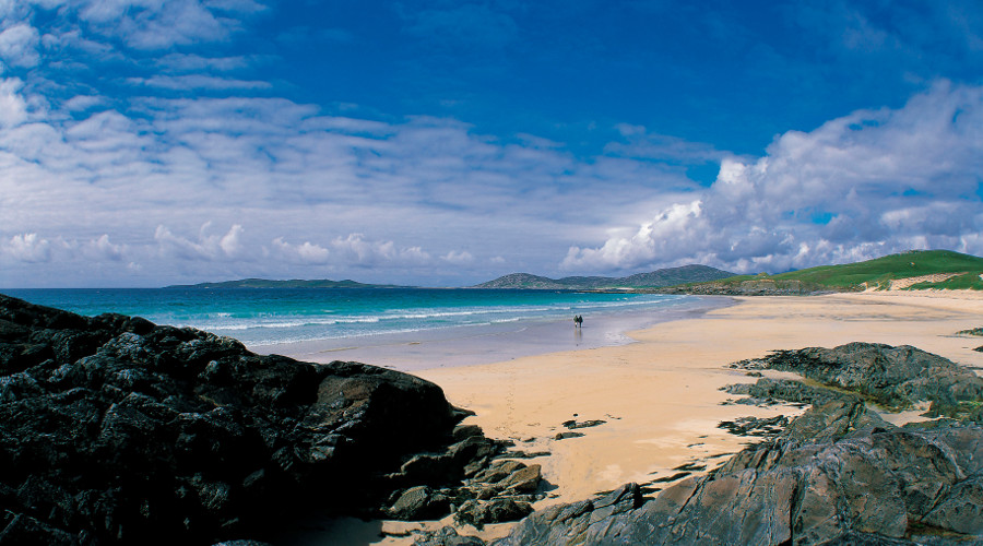 Traigh An Iar beach on the Isle of Harris