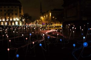 Bruce Munro's Field of Light - photo by Naia Lebrun