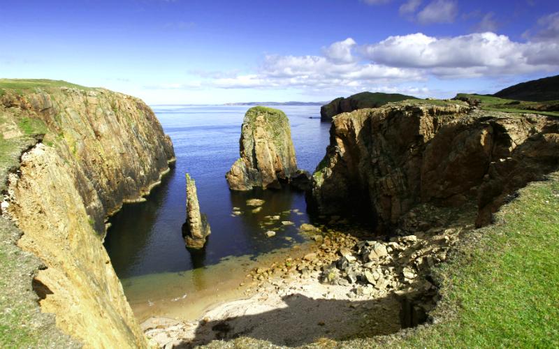 Hams of Roe, Muckle Roe, Shetland