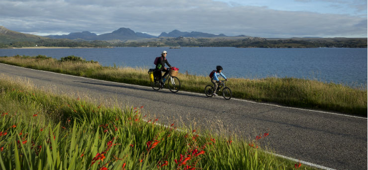 Explore Scotland's National Cycle Network