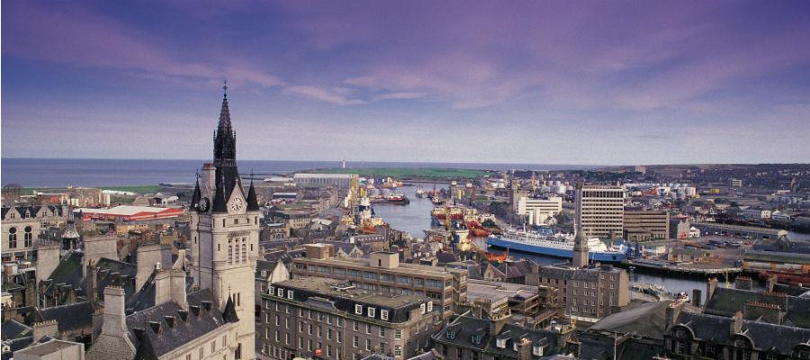 Aberdeen's skyline