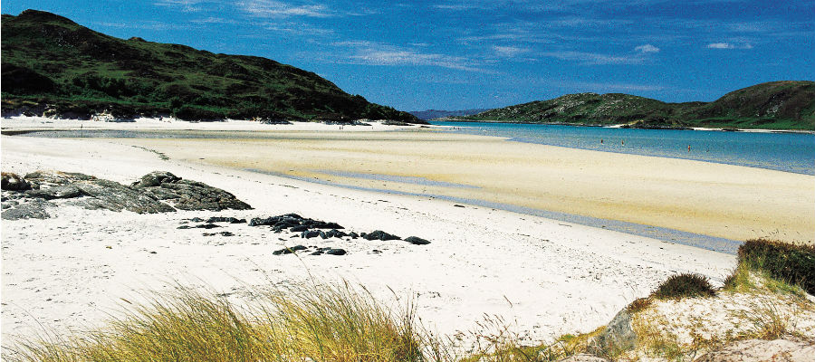 The Silver Sands of Morar, Arisaig