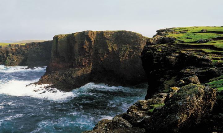 The cliffs at Eshaness