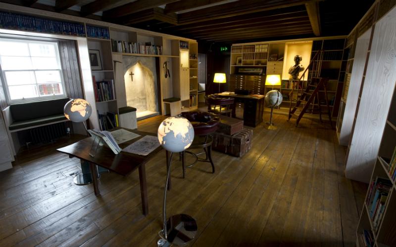 The Explorers' Room of Fair Maid's House