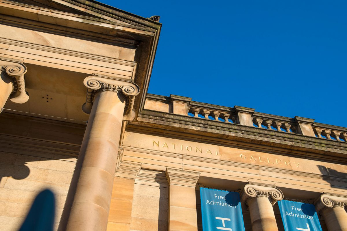 Scottish National Gallery in Edinburgh