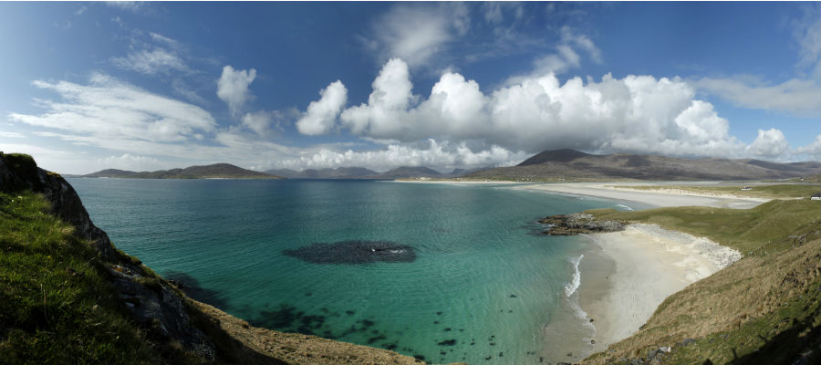 Looking towards Luskentyre, Outer Hebrides