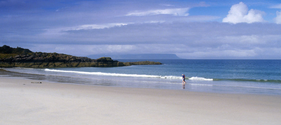 The beach at Arisaig, Highlands