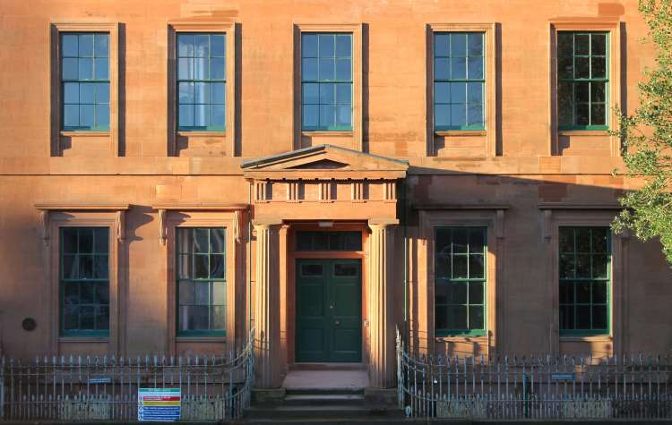 Moat Brae in Dumfries - image courtesy of Graeme Robertson