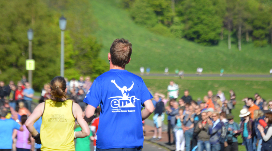 The Edinburgh Marathon Festival. Image courtesy of Ken Aitchison.