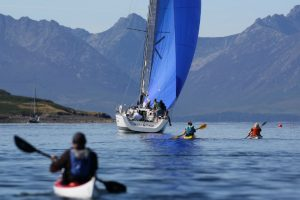 Watersports in the Firth of Clyde