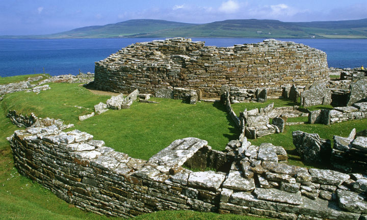 The Broch of Gurness, Mainland Orkney