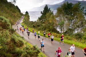 Baxters Loch Ness Marathon, 30th September 2012.