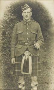 Buchanan in uniform