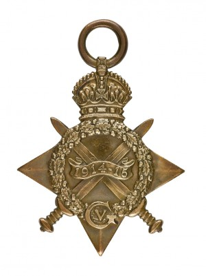 The 1914-15 Star Medal