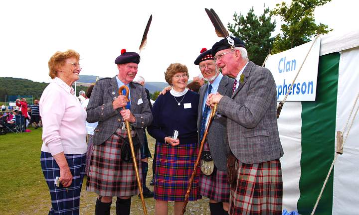 Clan Macpherson is just one of many clans that will be present at Bannockburn Live