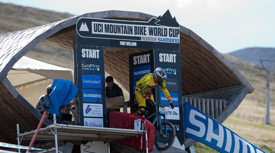 The Mountain Bike World Cup returns to Fort William on 7 - 8 June