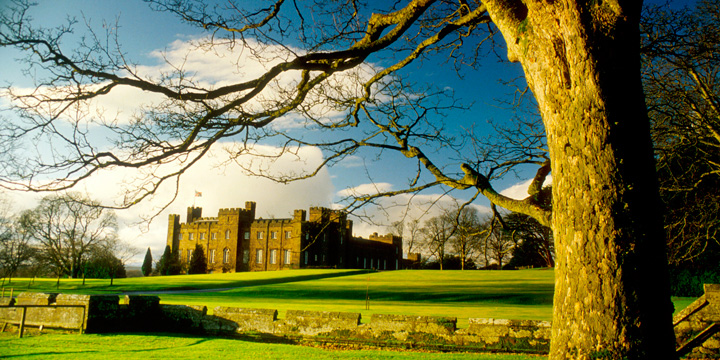 Scone Palace in Perthshire