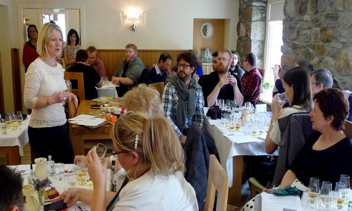 Annabel Meikle – Test of the Senses Aberlour Hotel, 3 May 2014 © Edinburgh Foody