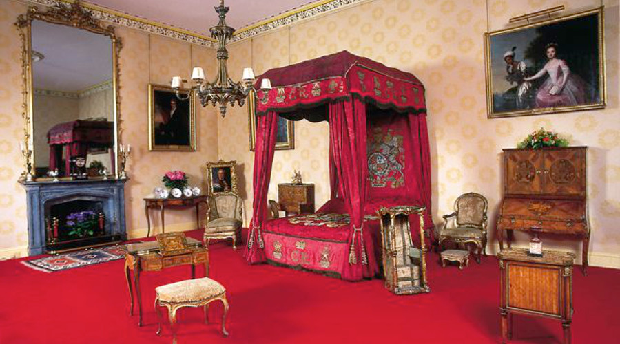 The Ambassador's Room, Scone Palace. The portrait hangs in this magnificent room.
