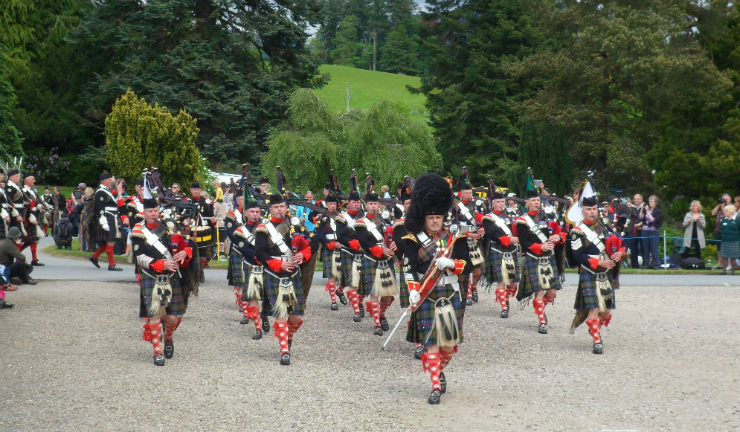 The Atholl Highlanders
