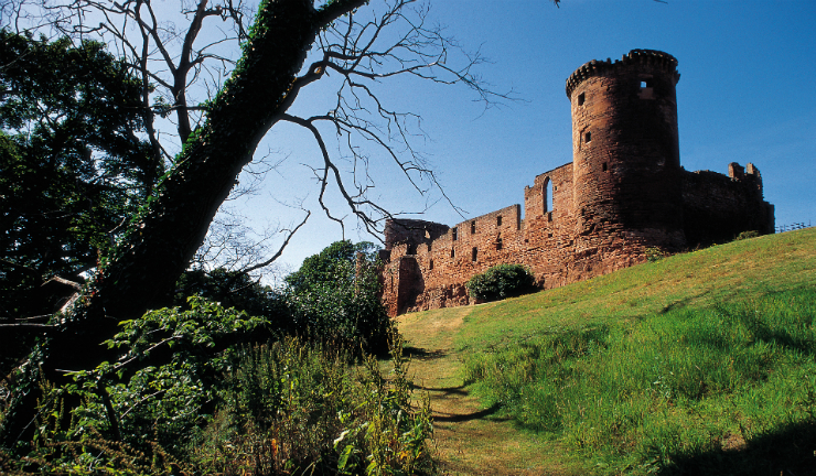Bothwell Castle by Uddingston, South Lanarkshire