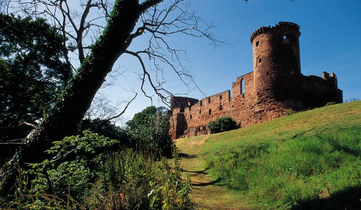 Bothwell Castle by Uddingston, South Lanarkshire