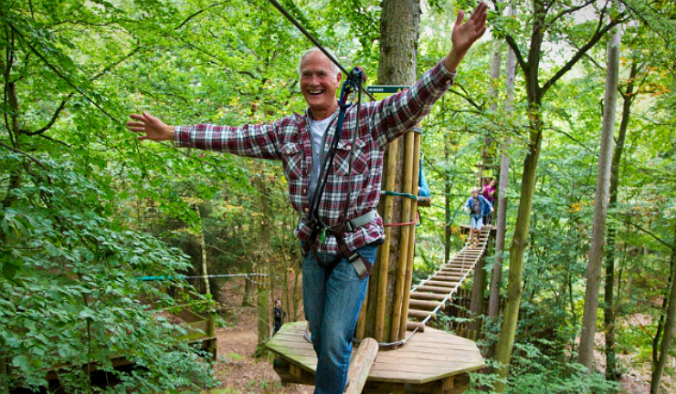 Go Ape! at Aberfoyle in the Trossachs