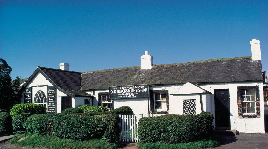 Gretna Green Famous Blacksmith's Shop