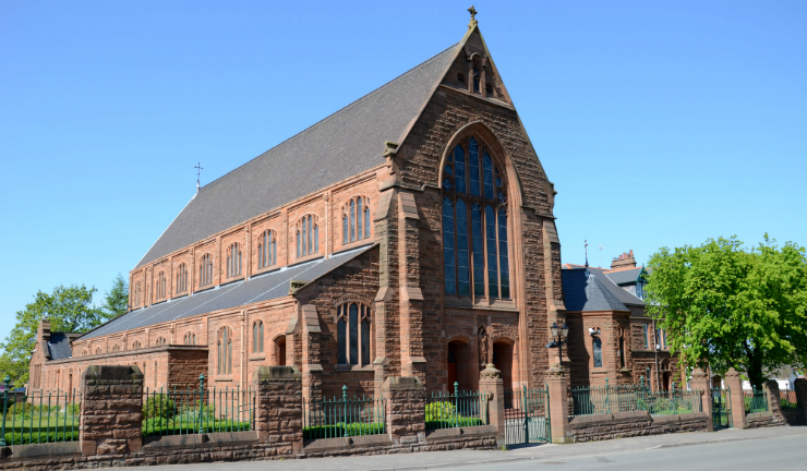 Motherwell Cathedral in Motherwell, North Lanarkshire