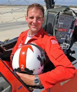 Flight Lieutenant Stew Campbell, 'Red 2'