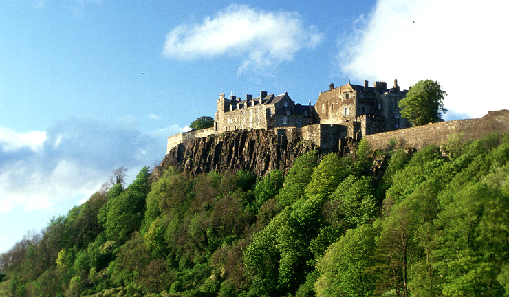 The historic Stirling Castle was returned to Scottish power following the battle