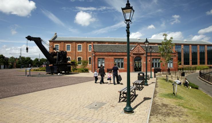 Summerlee Museum of Scottish Industrial Life in Coatbridge, North Lanarkshire