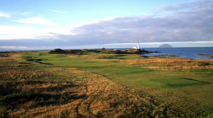 12th hole at Turnberry Ailsa Course, Ayrshire
