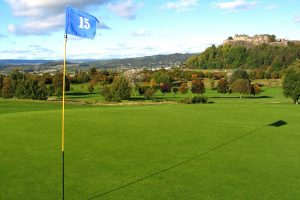 15th hole at Stirling Golf Club