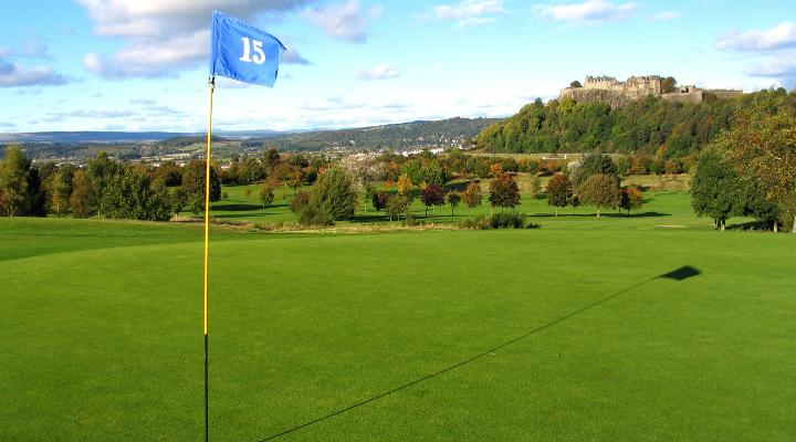 15th hole at Stirling Golf Club