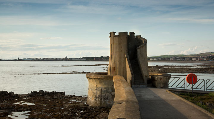 The Watch Tower at Saltcoats