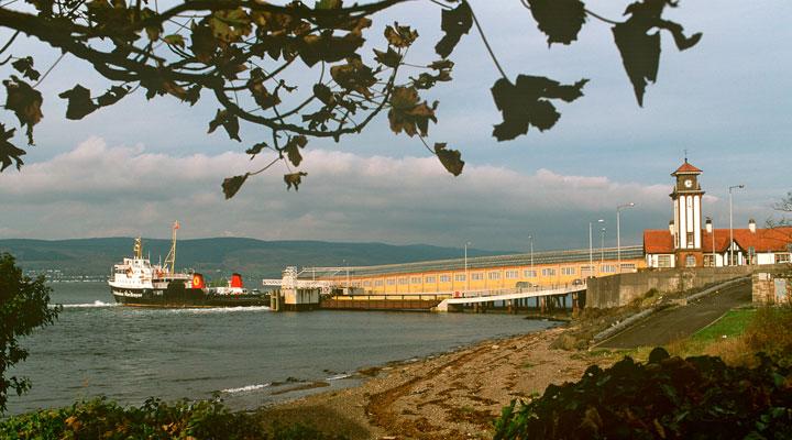 Wemyss Bay terminal