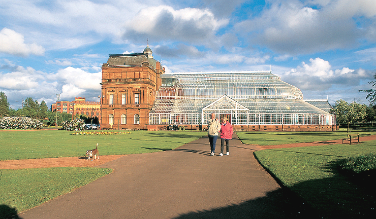 People's Palace and Winter Gardens, Glasgow Green
