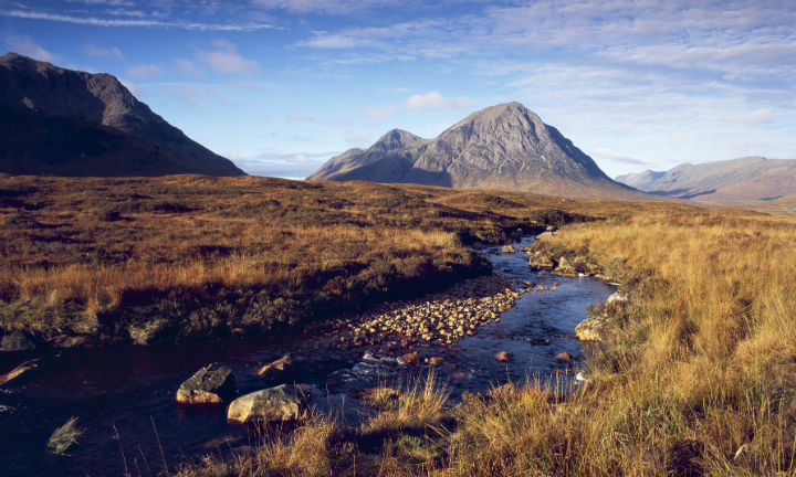 Glen Coe in autumn