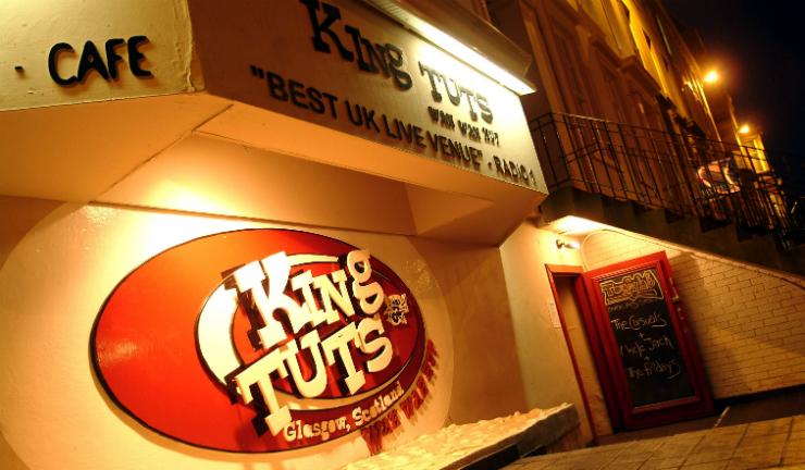 Music venue King Tuts Wah Wah Hut