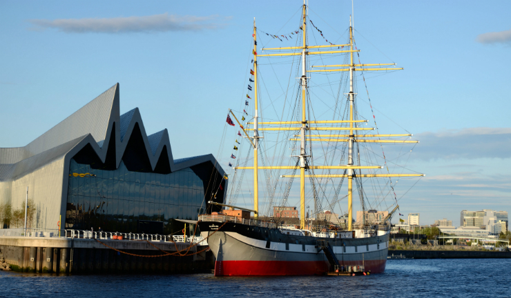 The Tall Ship and the Riverside Museum