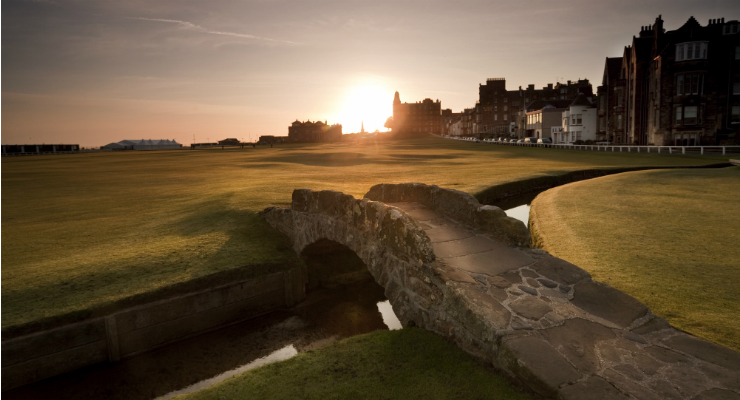 Swilcan Bridge, Old Course in St Andrews