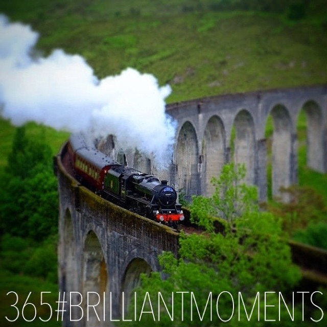 @neilcoffey_jacobite steam train_glenfinnan viaduct