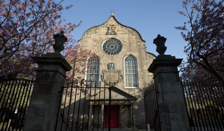 Canongate Kirk, venue of the Alastair Savage Trio